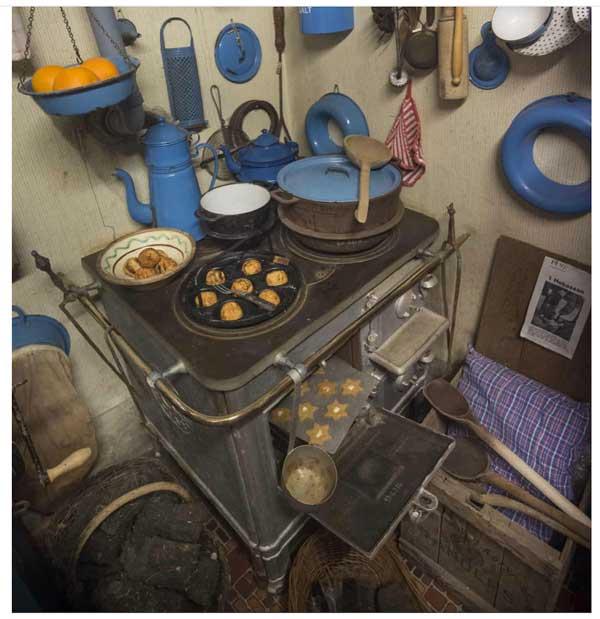 Nielstrup Museum - Køkkenet