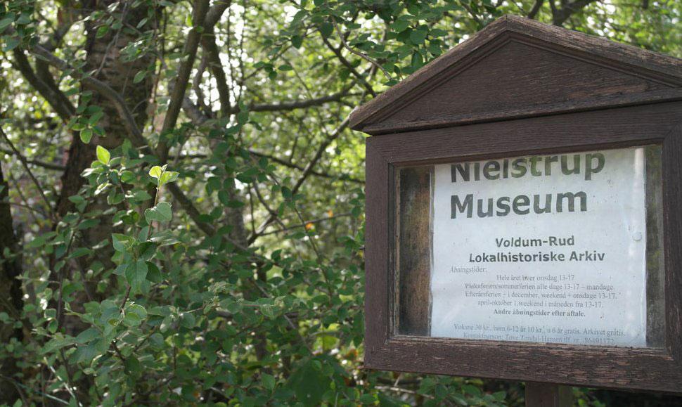 Nielstrup Museum og Lokalarkiv - Voldum-Rud Lokalhistoriske Arkiv
